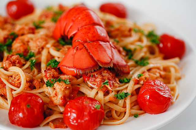... Hotel and Tourism Management Institute Switzerland – Lobster Pasta