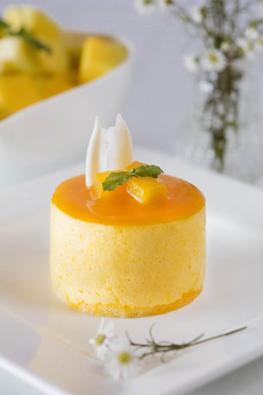 Mango Cake With Egg Whites