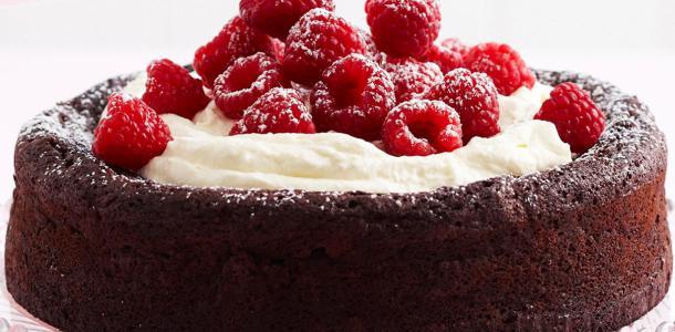 flourless-chocolate cake