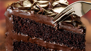Best Ever Chocolate Layer Cake With Ganache Topping